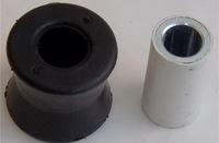 Втулка заднего амортизатора с метал. втулкой Doblo (Нижняя) / 46749274 / 46749274, 46824682, 46825166, 51714754, 51755255, 51714758, APM0643, B6022.1
