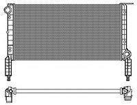 Радиатор Doblo 1.6 >2005 с конд / 46803031 / 46803031, 46749003, 350213181000