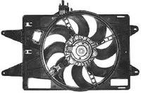 Вентилятор с дифузором Doblo 1.9D с конд >2005 / 51738720 / 51738720, 46767294, 069422026010