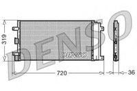 Радиатор кондиц. 1.4-1.6 Doblo 2005> / 51801843 / 51801843, 51758873