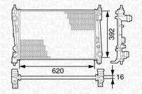 Радиатор Fiat Doblo 1.3D-1.6D-1.9D 2009> / 51812209 / 51812209, 51808364, 51840476, 55700617, 55704135, 51897080
